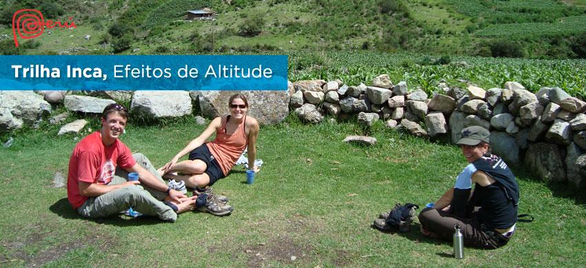 altitude trilha inca