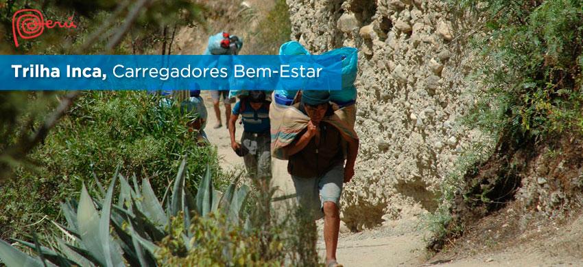 carregadores trilha inca