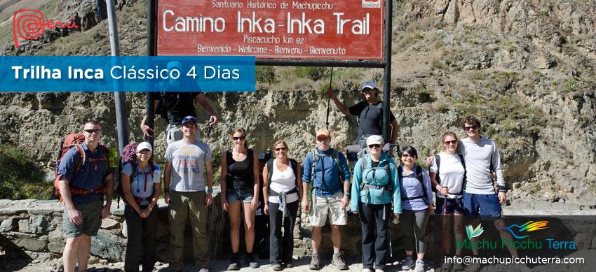 ruta clásica camino inca