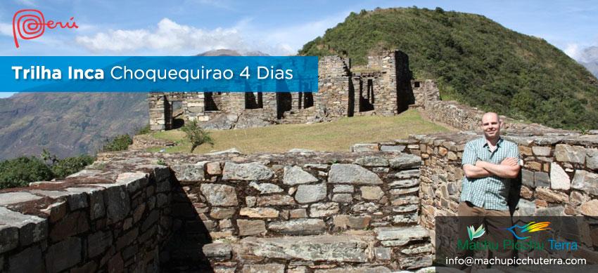 Trilha Inca Choquequirao Machu Picchu