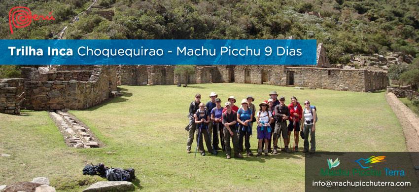Choquequirao Trilha Inca Machu Picchu