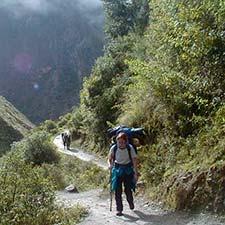 Disponibilidade online Trilha Inca para Machu Picchu 2021