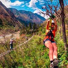 Jornada na selva inca – Canopy para Machu Picchu 4 dias