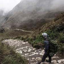 Qual é a dificuldade da Trilha Inca para Machu Picchu?