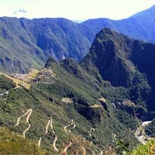 A paisagem do Santuário Histórico de Machu Picchu