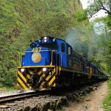 Trens para a Trilha Inca e Machu Picchu